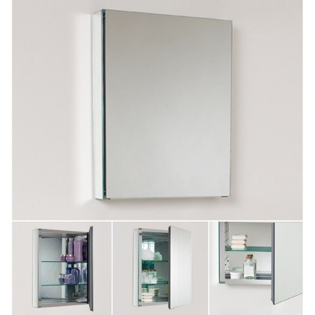 Mirrored Wall Cabinets For Bathroom