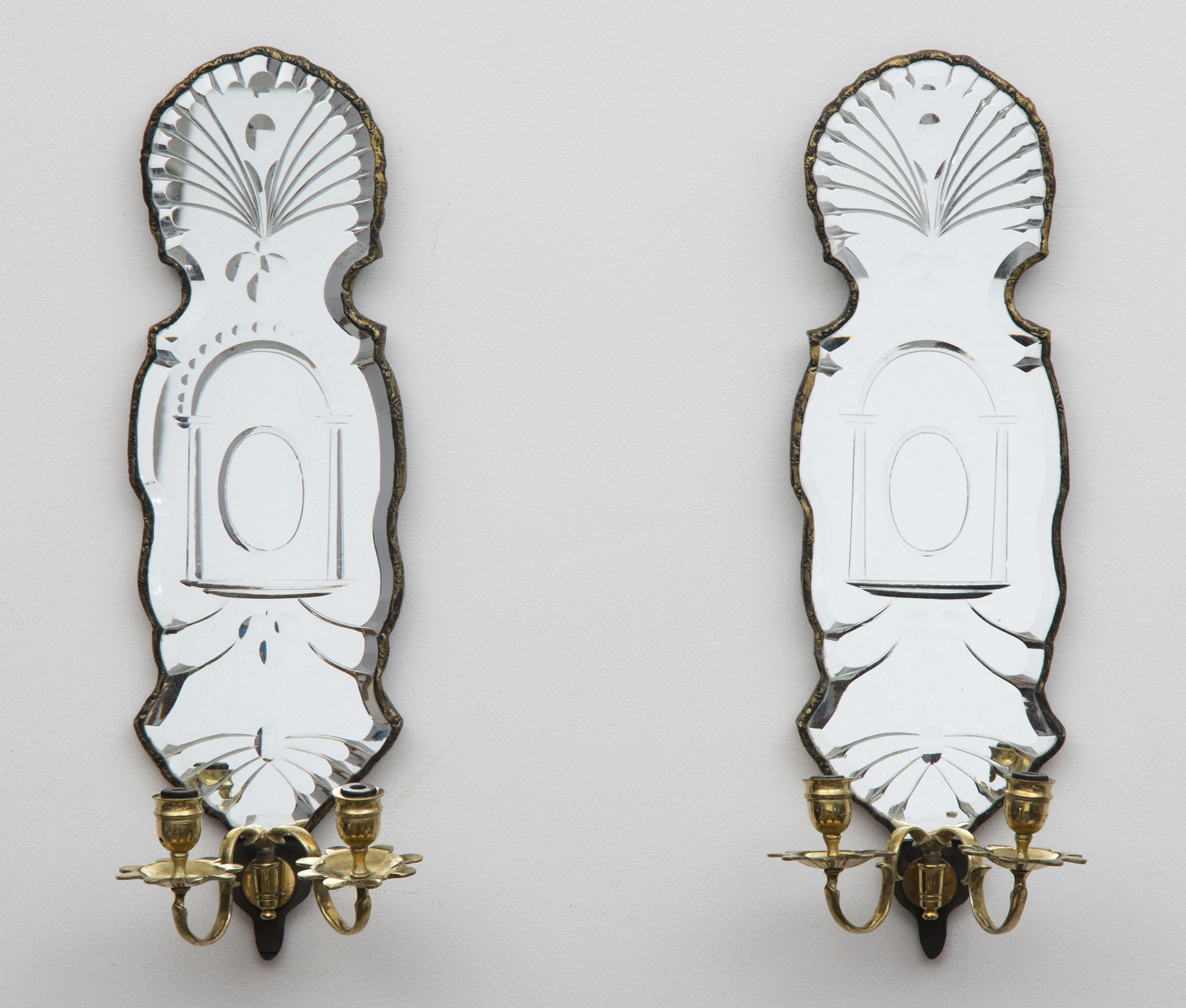 Permalink to Mirrored Wall Sconces & Votives