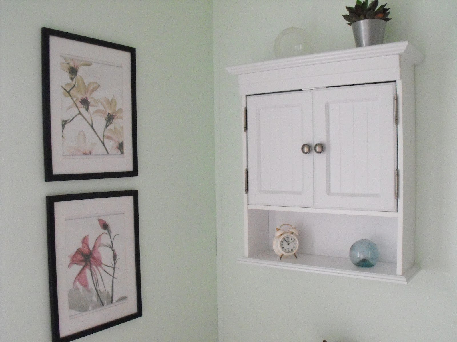 Mirrored Wall Shelf Panel