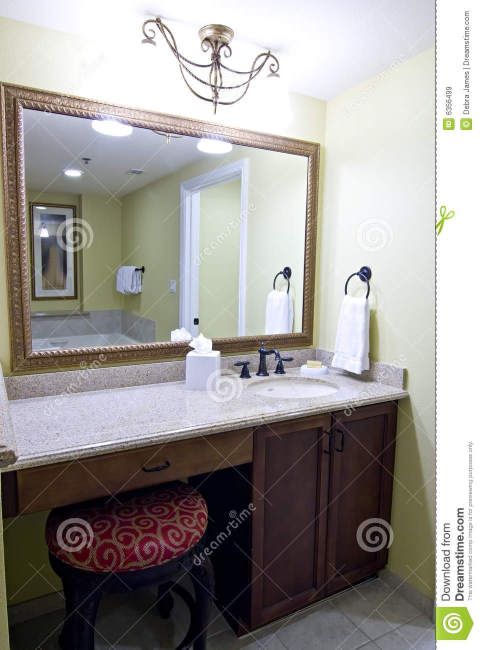 Mirrors Above Bathroom Vanity