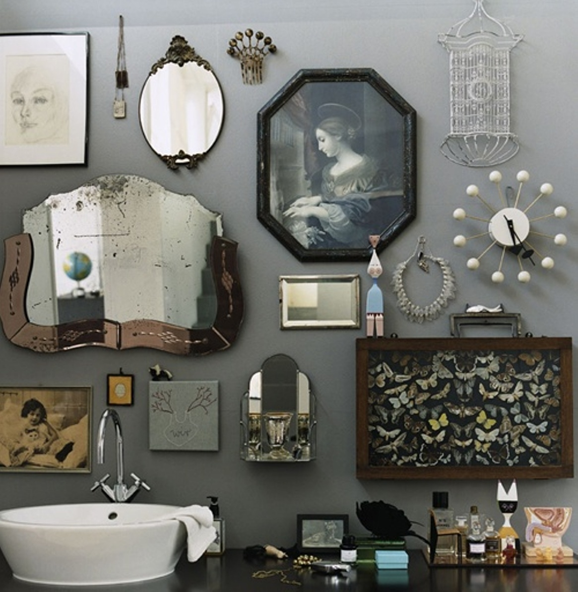 Mirrors Wall Decorations Antique