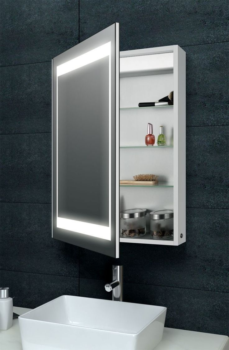 Modern Bathroom Mirror Cabinet