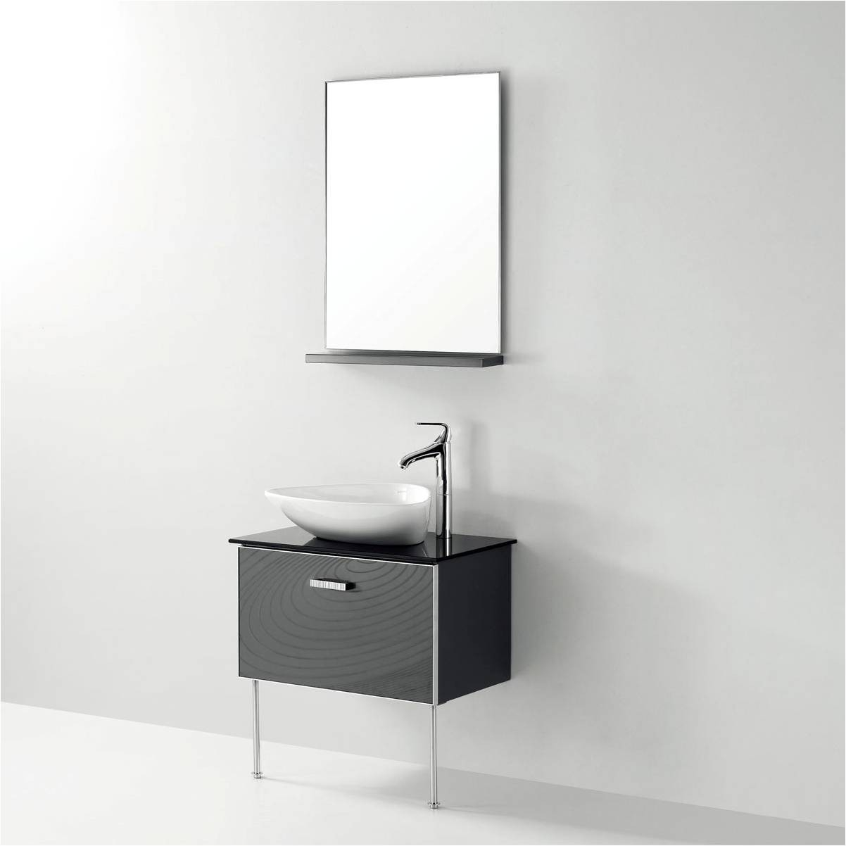 Modern Bathroom Mirror With Shelf