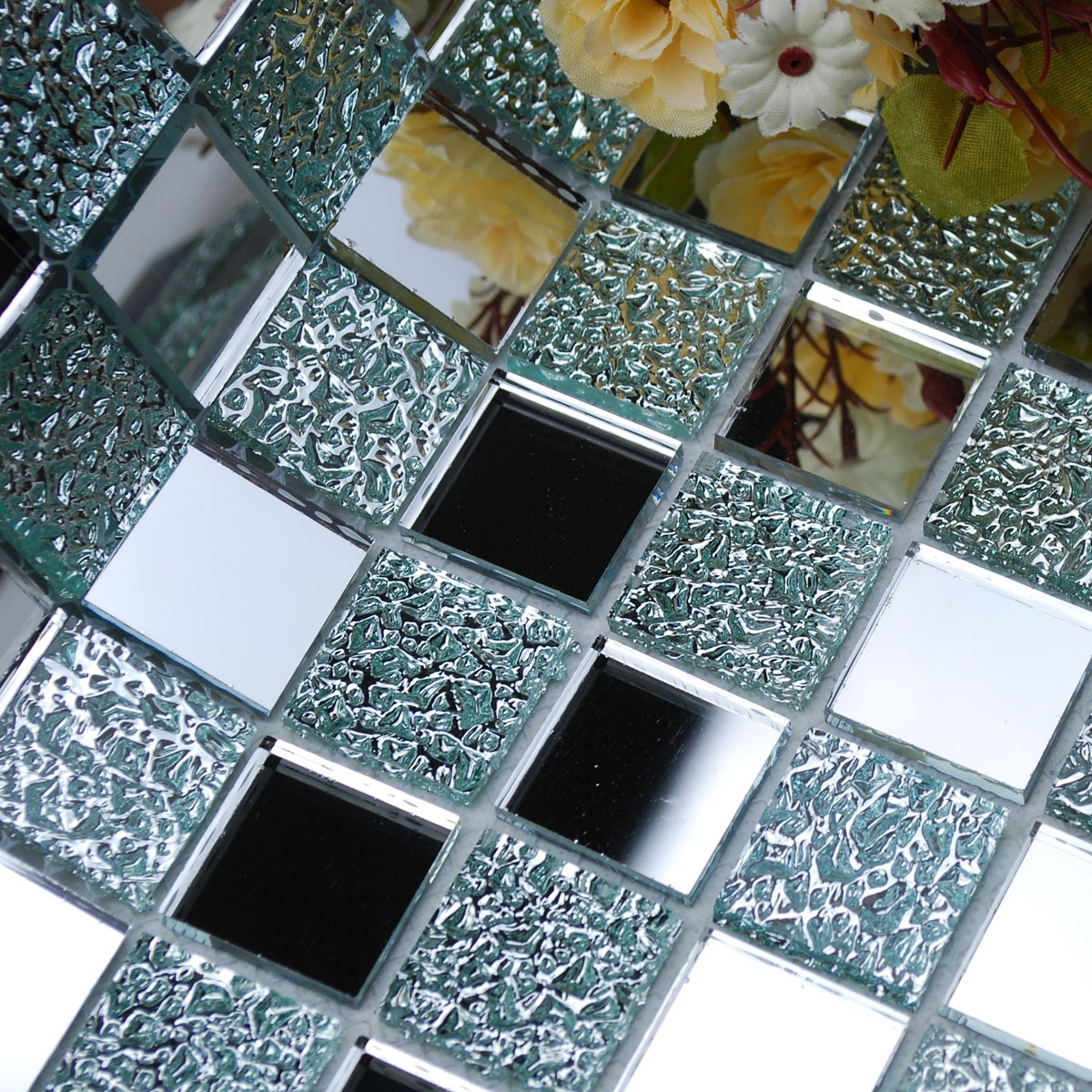 Mosaic Tile Wall Mirrors