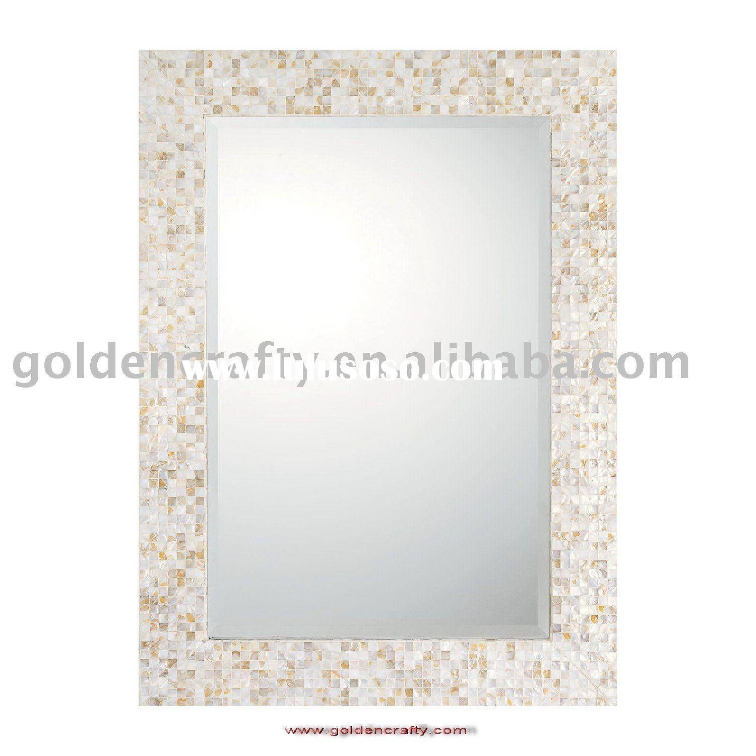 Mother Of Pearl Wall Mirror Mosaic