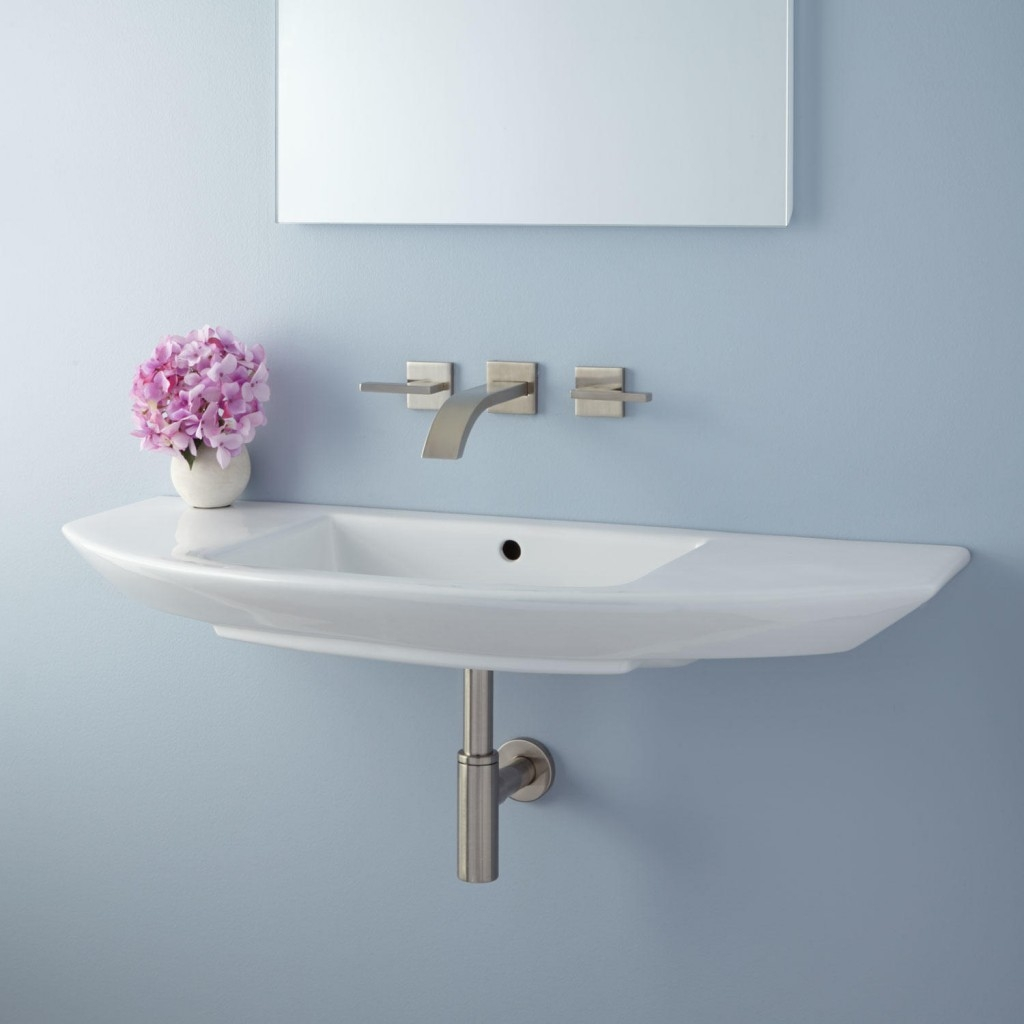 Narrow Bathroom Wall Mirrorsnarrow small wall mount bathroom sink installation pedestal narrow
