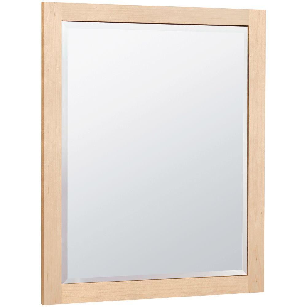 Permalink to Natural Maple Bathroom Mirror