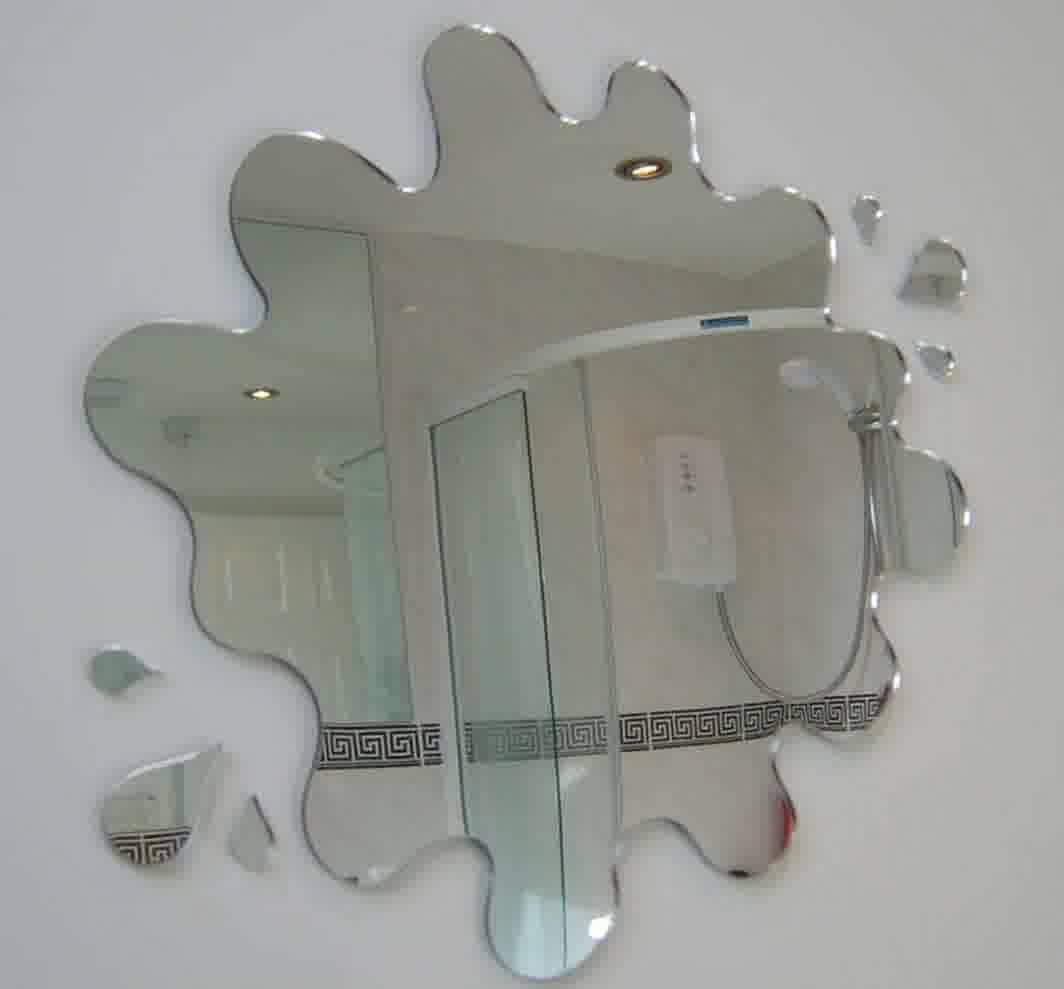 Odd Shaped Bathroom Mirrors
