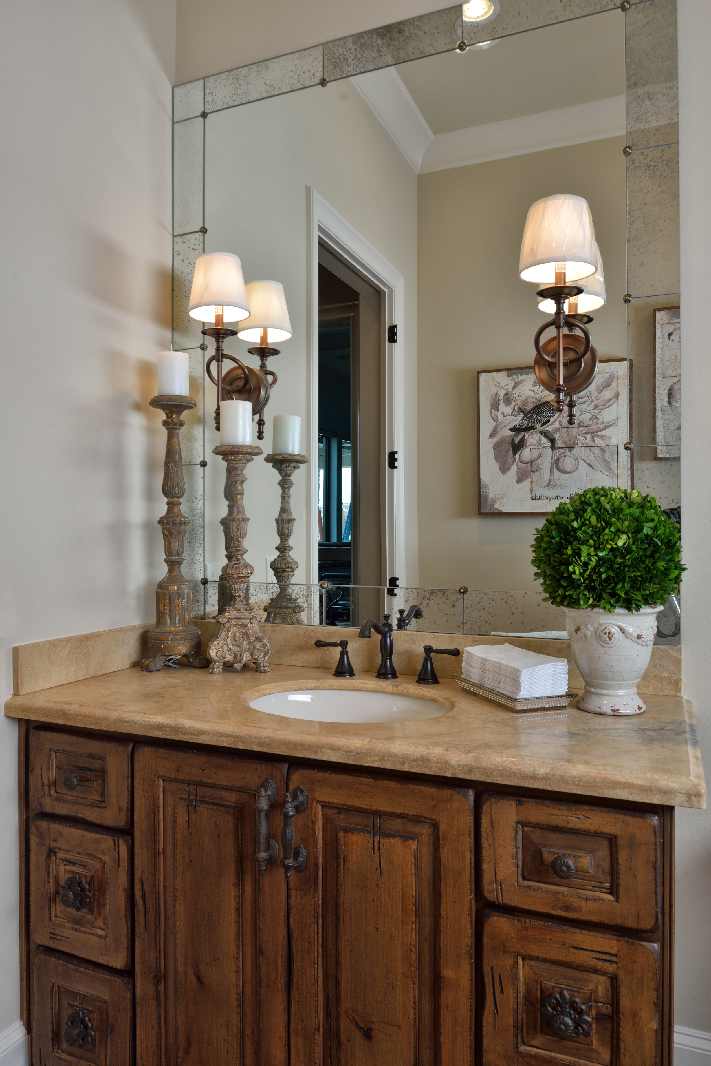 Old World Mirrors For Bathrooms