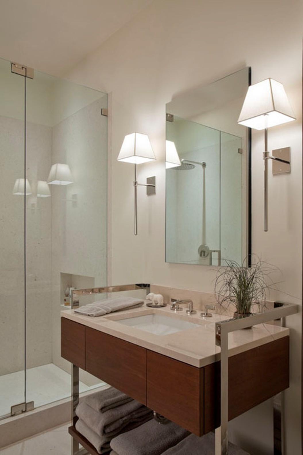 Oval Mirror Bathroom Sconces
