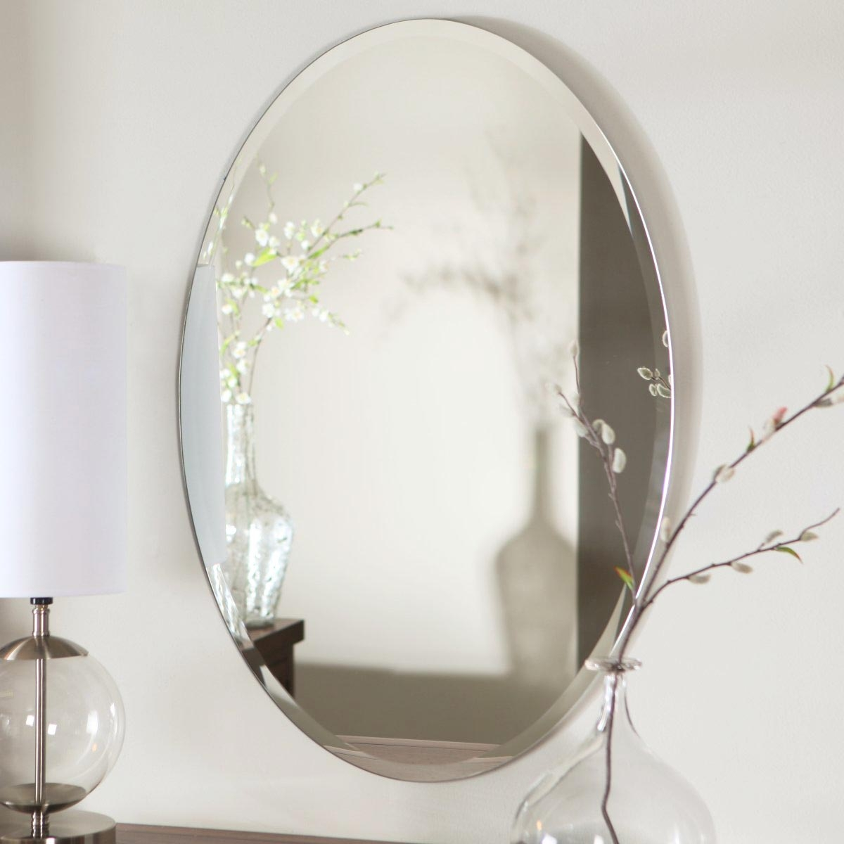 Oval Mirrors For Bathroom Walls