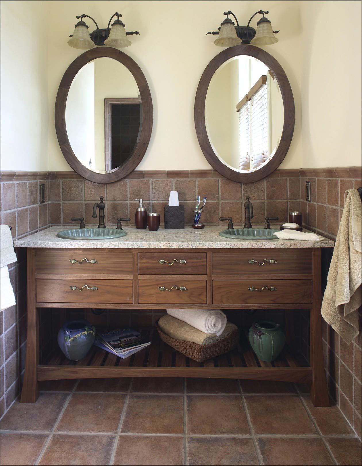 Oval Vanity Mirror For Bathroom
