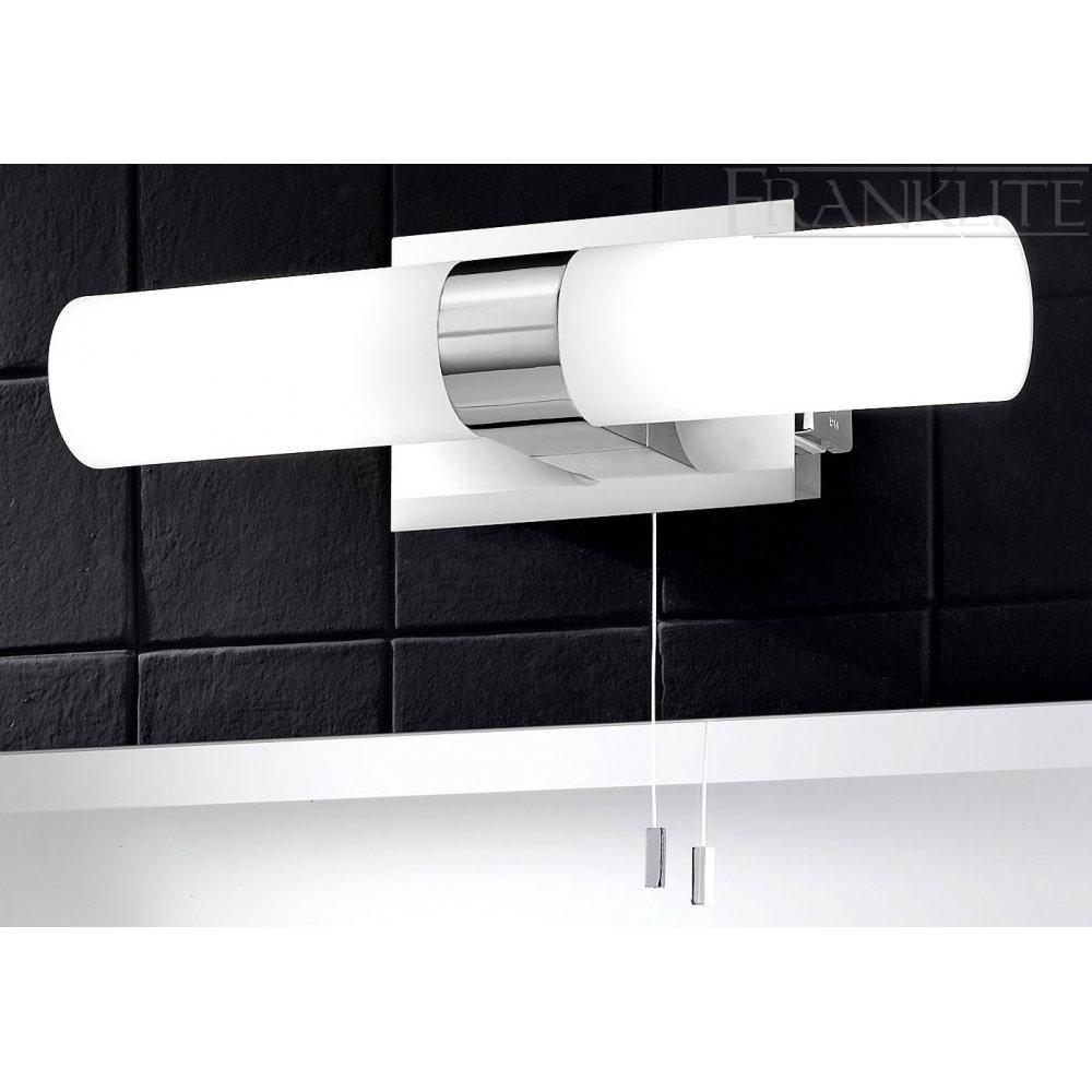 Over Mirror Bathroom Light Shaver Socket