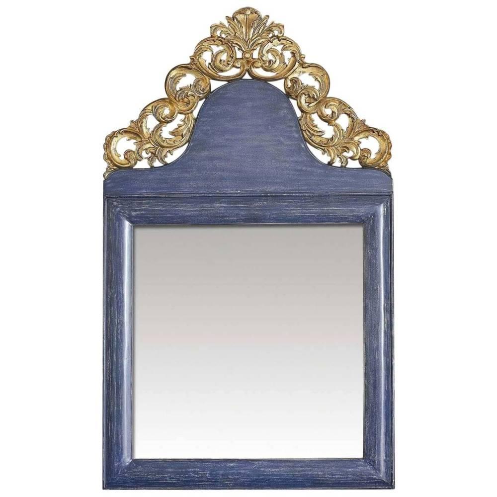 Peacock Blue Wall Mirror