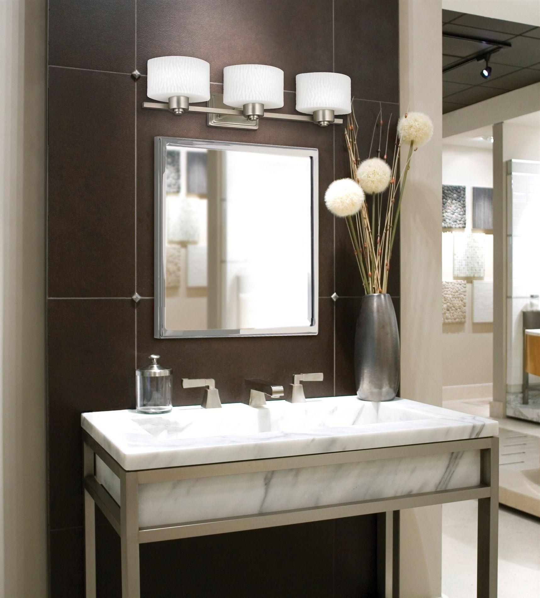 Picture Light Over Bathroom Mirror