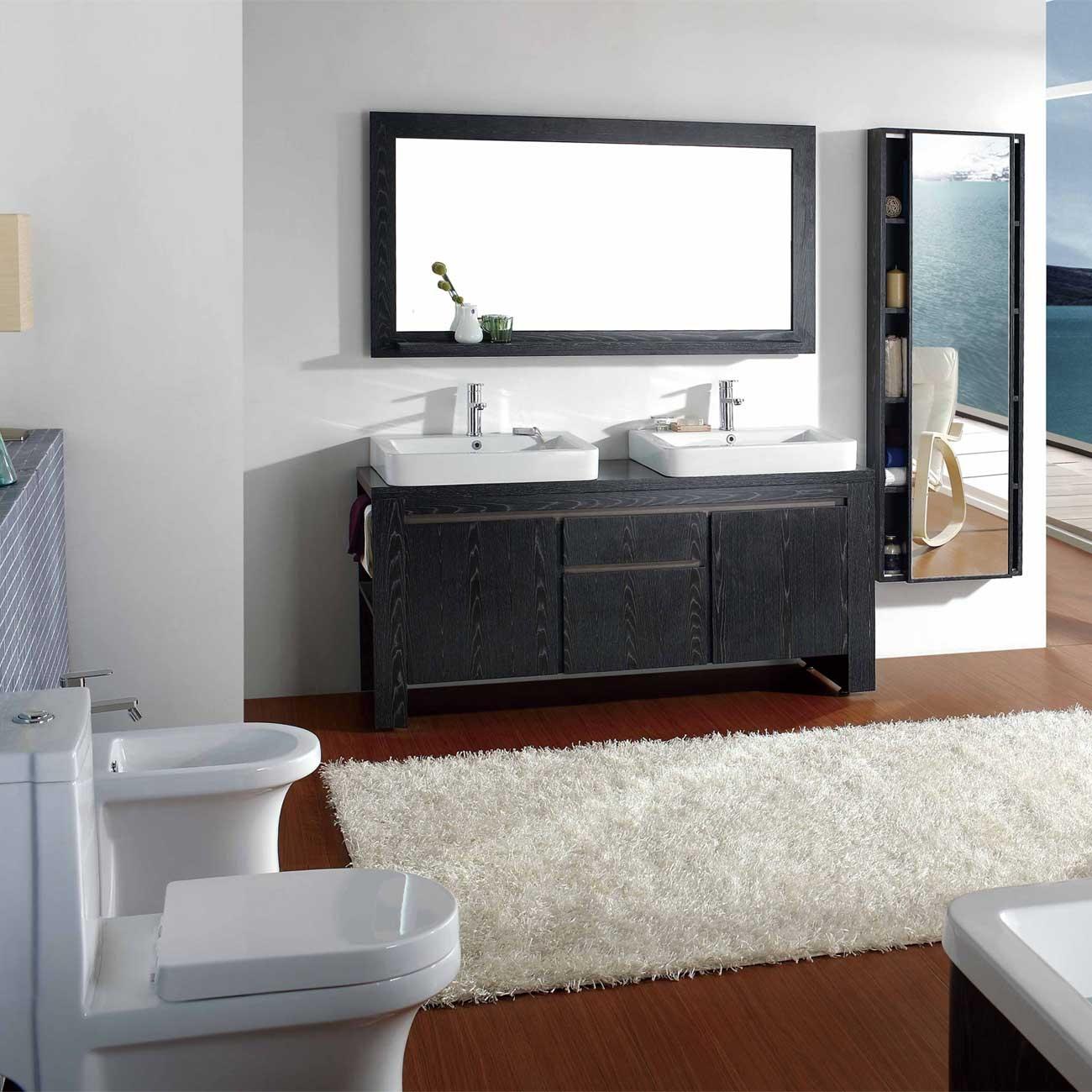 Pictures Of Bathroom Vanity Mirrors