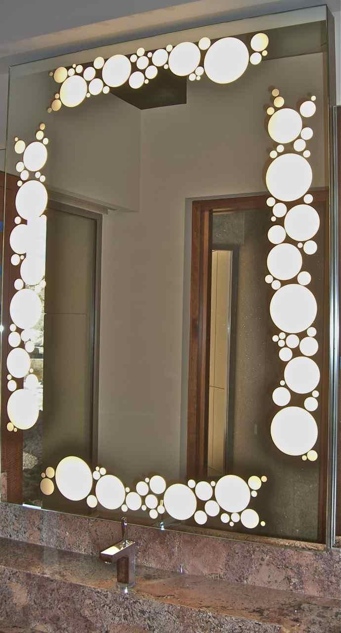 Pictures Of Decorative Bathroom Mirrors