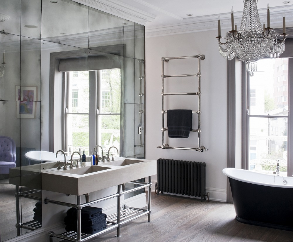 Pictures Of Mirrored Bathrooms