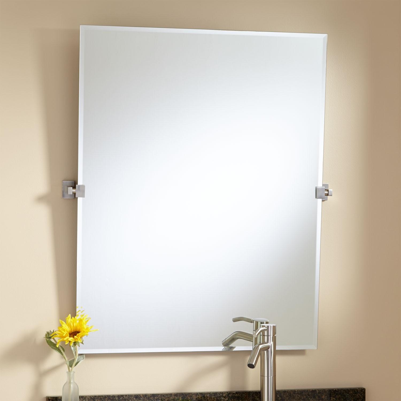 Pivot Arm Bathroom Mirrors