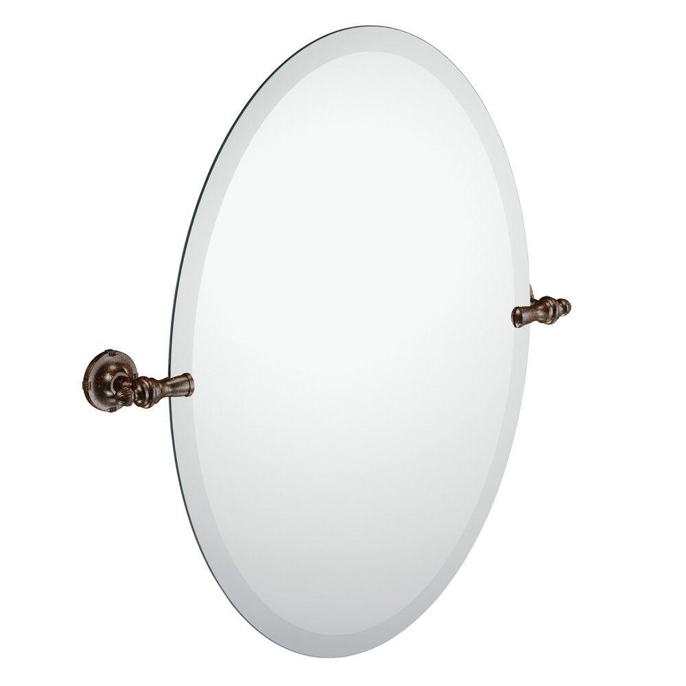 Pivot Bathroom Mirror Bronze