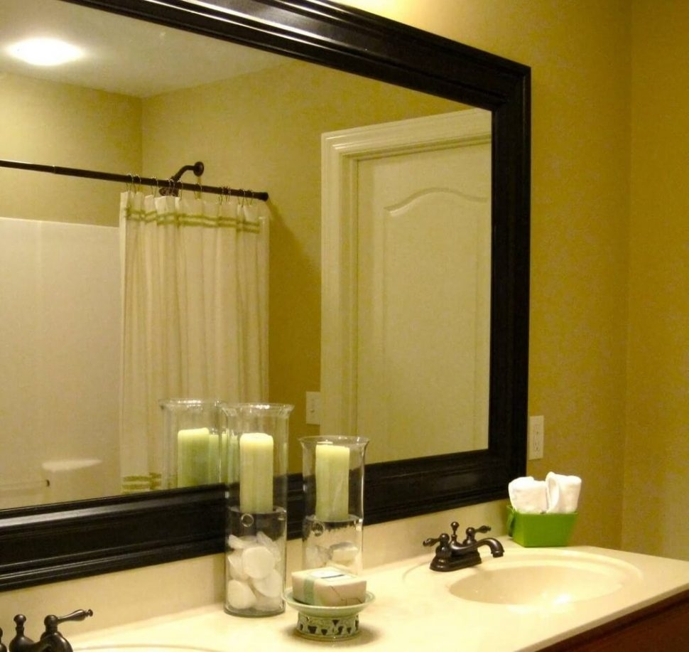 Plain Bathroom Mirror Ideas