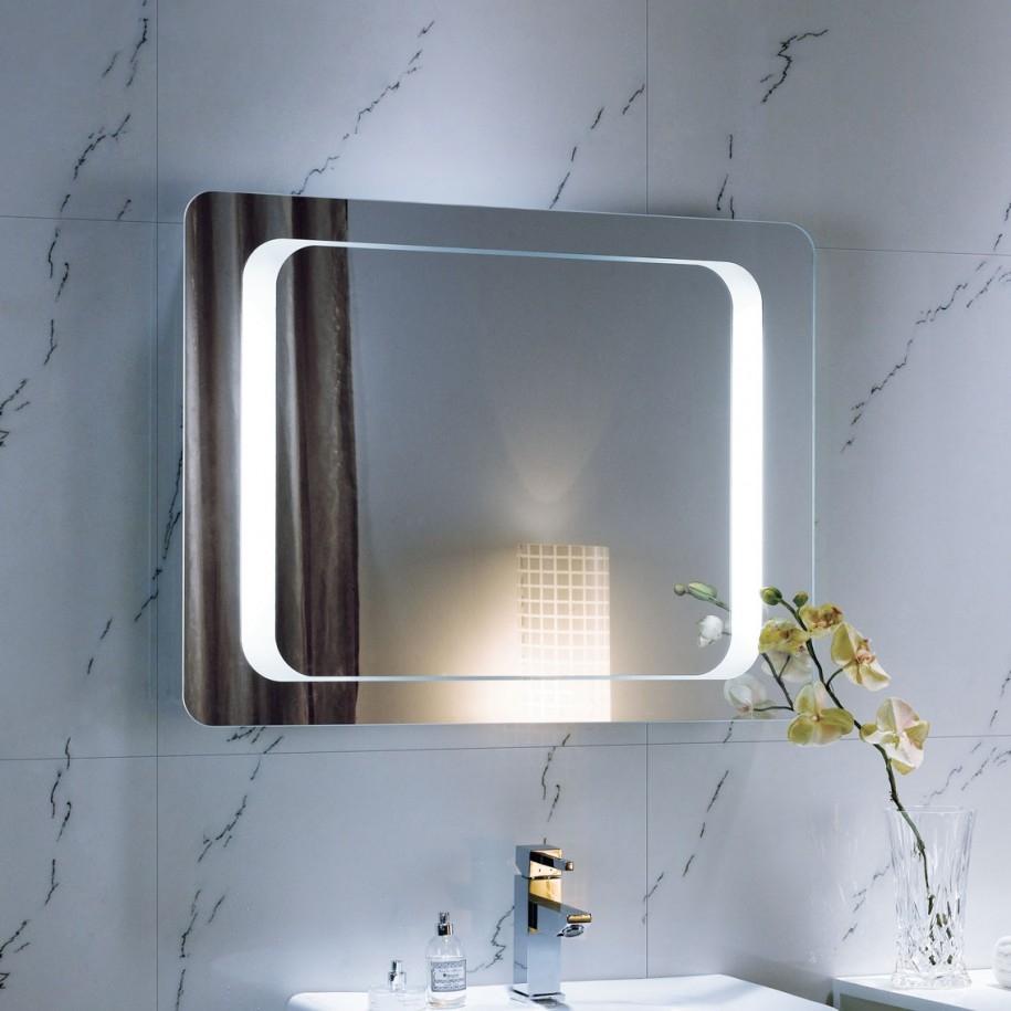 Plain Bathroom Wall Mirrors