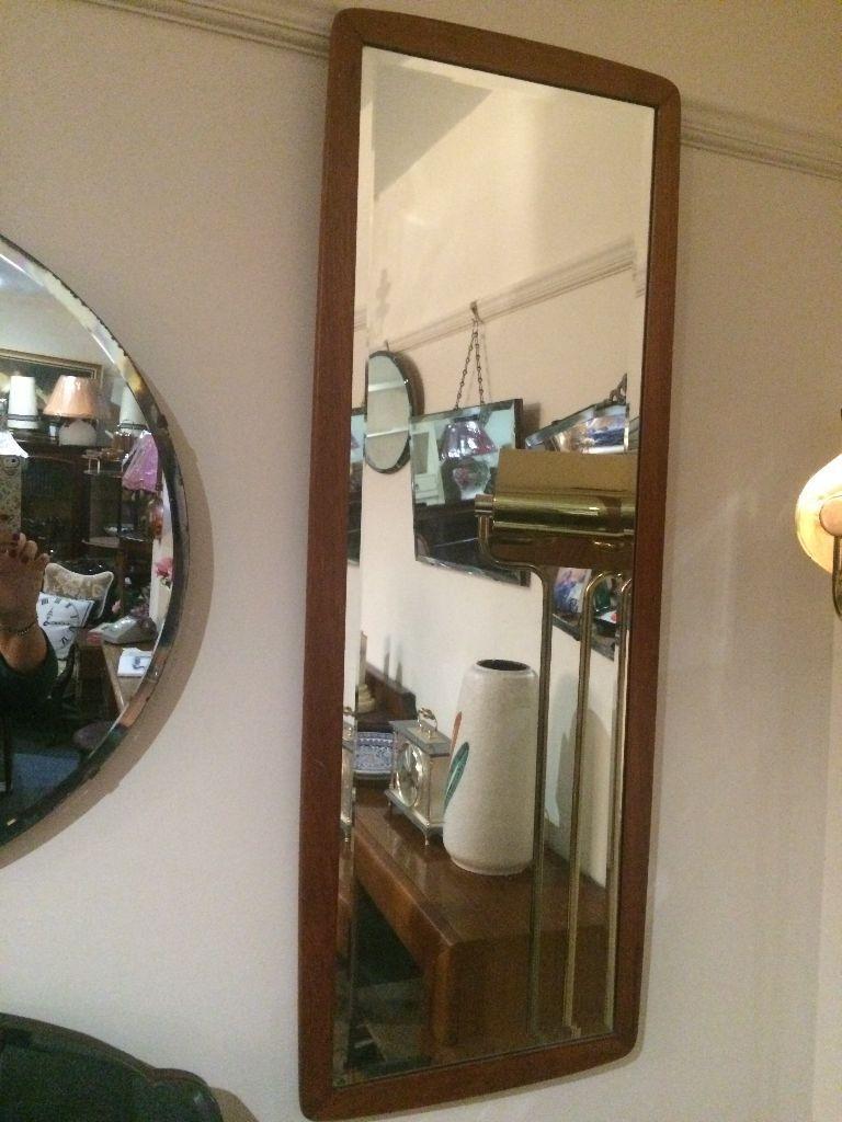 Plain Long Wall Mirror