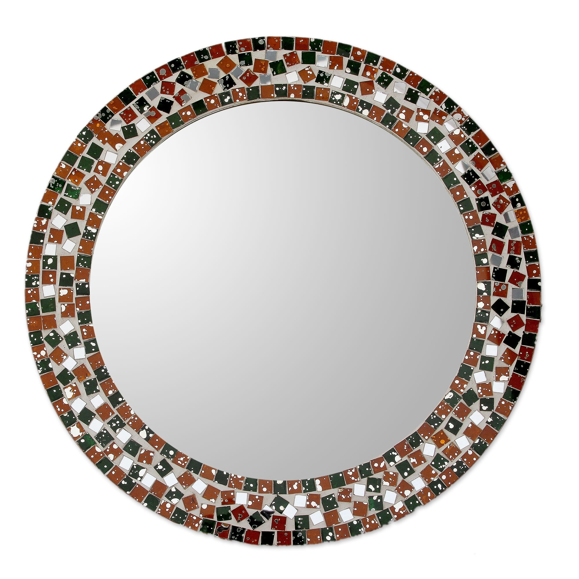 Plain Round Wall Mirror