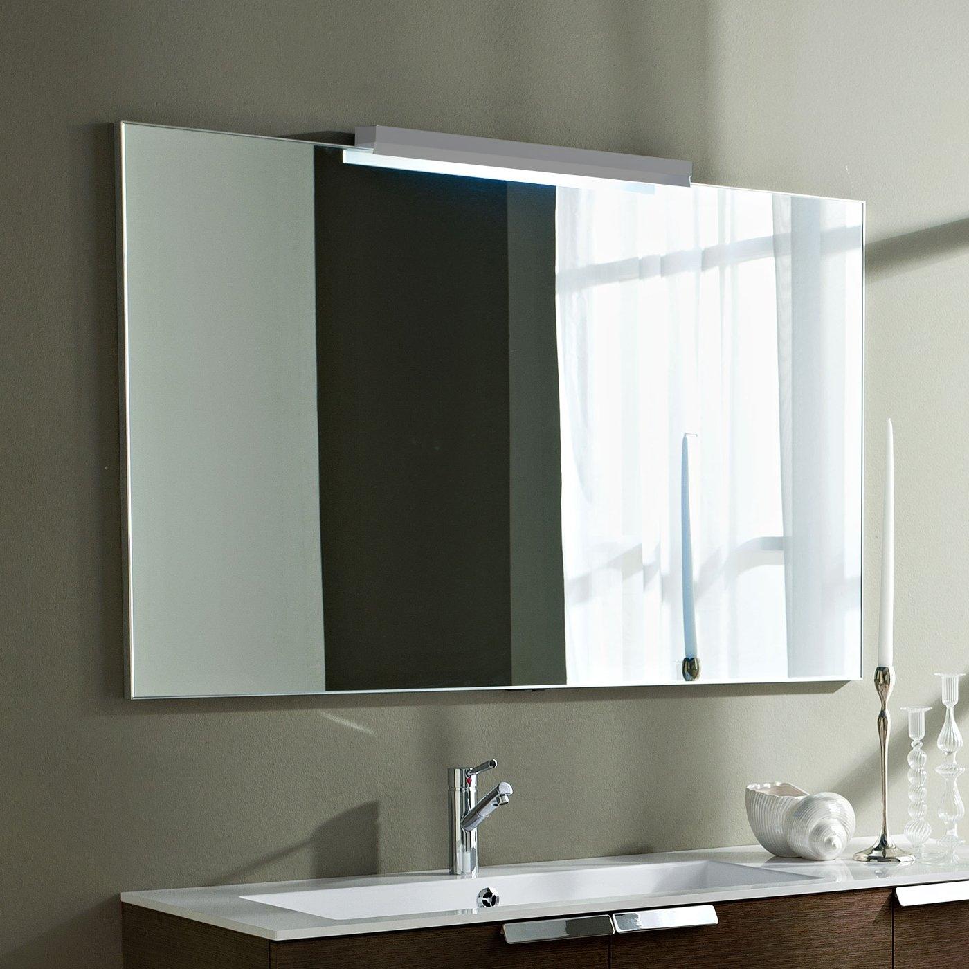 Plain Square Bathroom Mirror