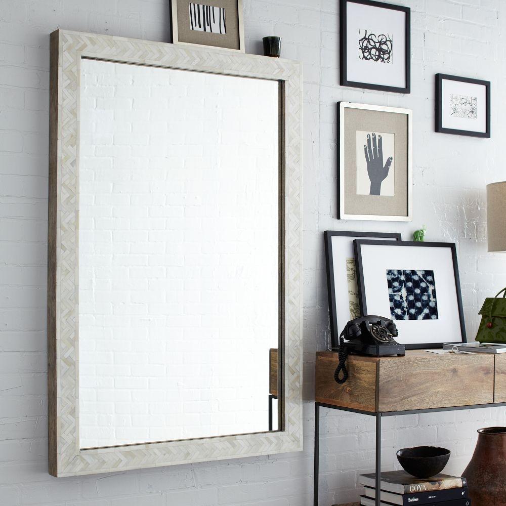 Plain Square Wall Mirror