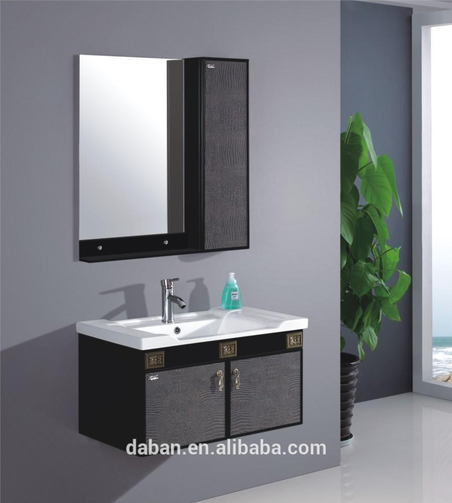 Plastic Bathroom Mirror Set