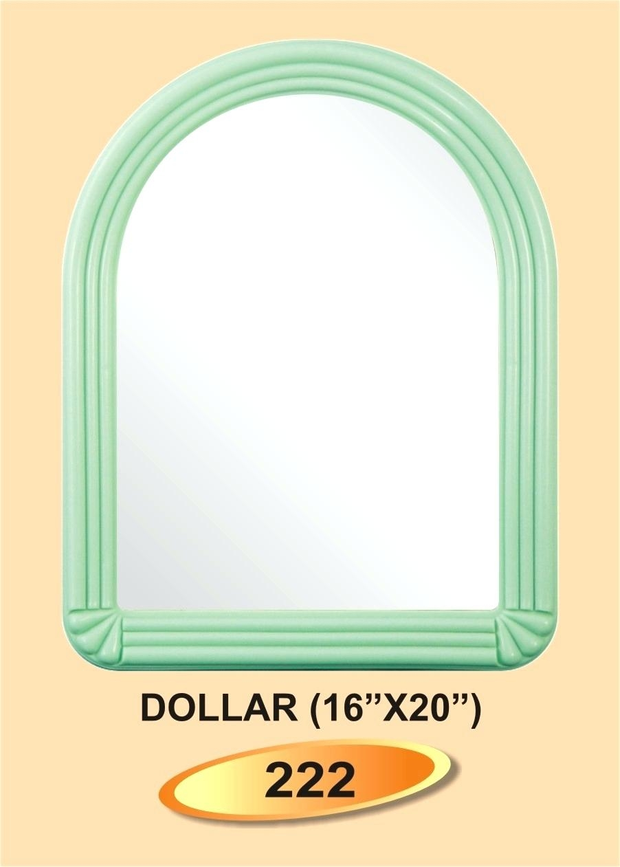 Plastic Framed Wall Mirrors