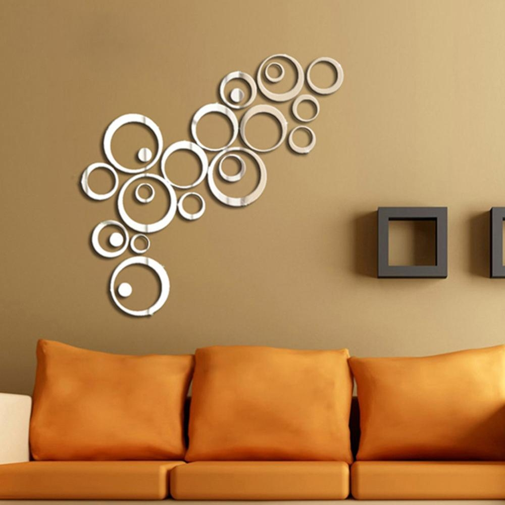Plastic Mirror Wall Sticker