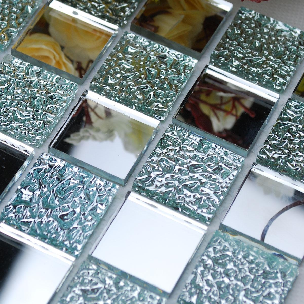 Plastic Mirror Wall Tiles