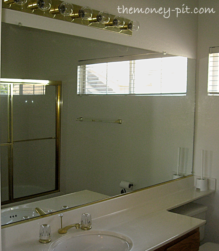 Plate Glass Mirror For Bathroom