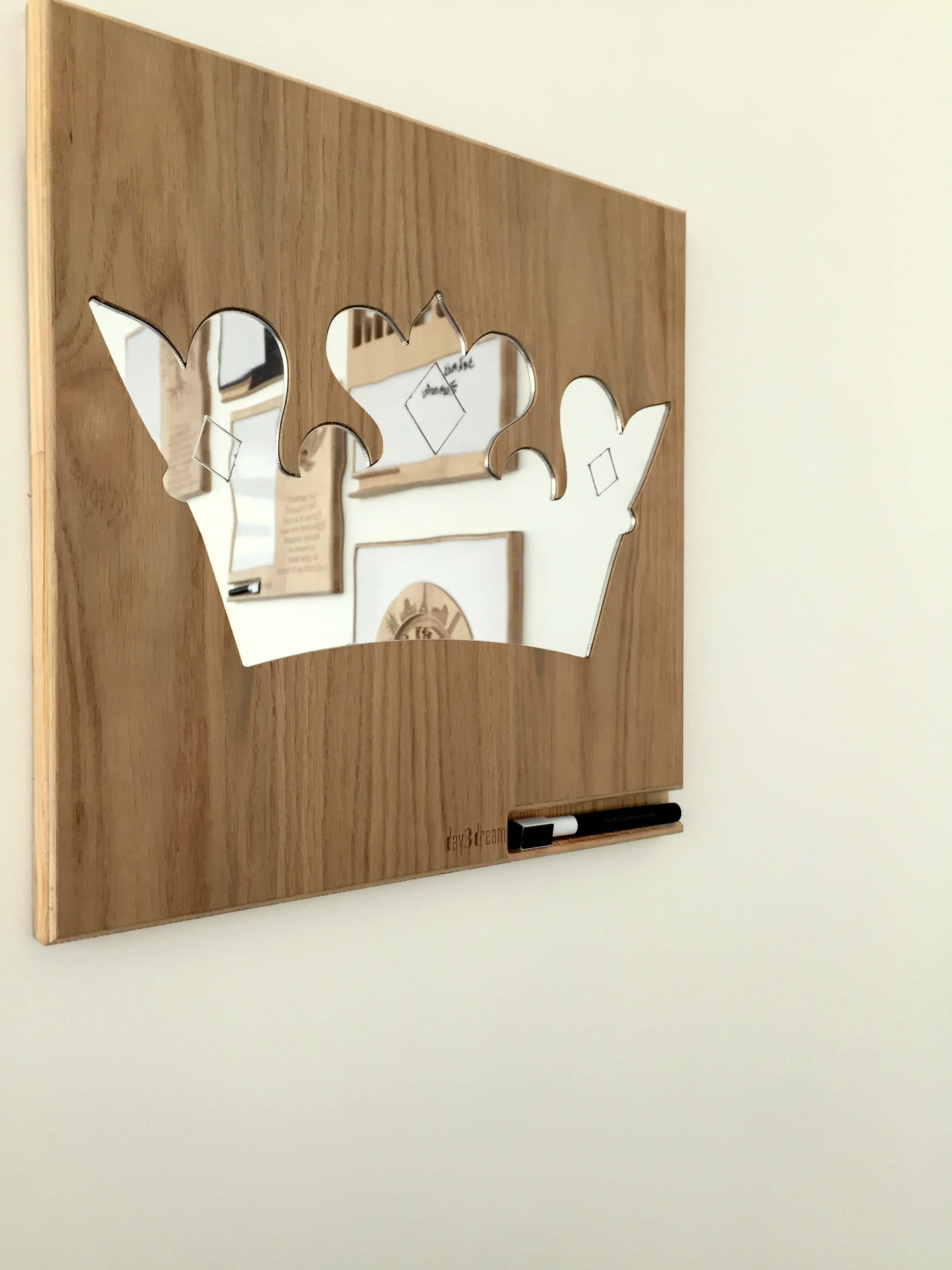 Princess Crown Wall Mirror