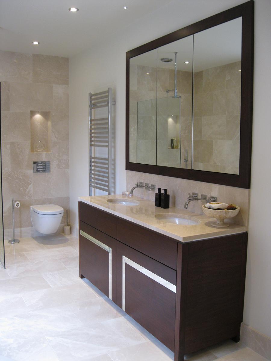 Recessed Bathroom Vanity Mirrors