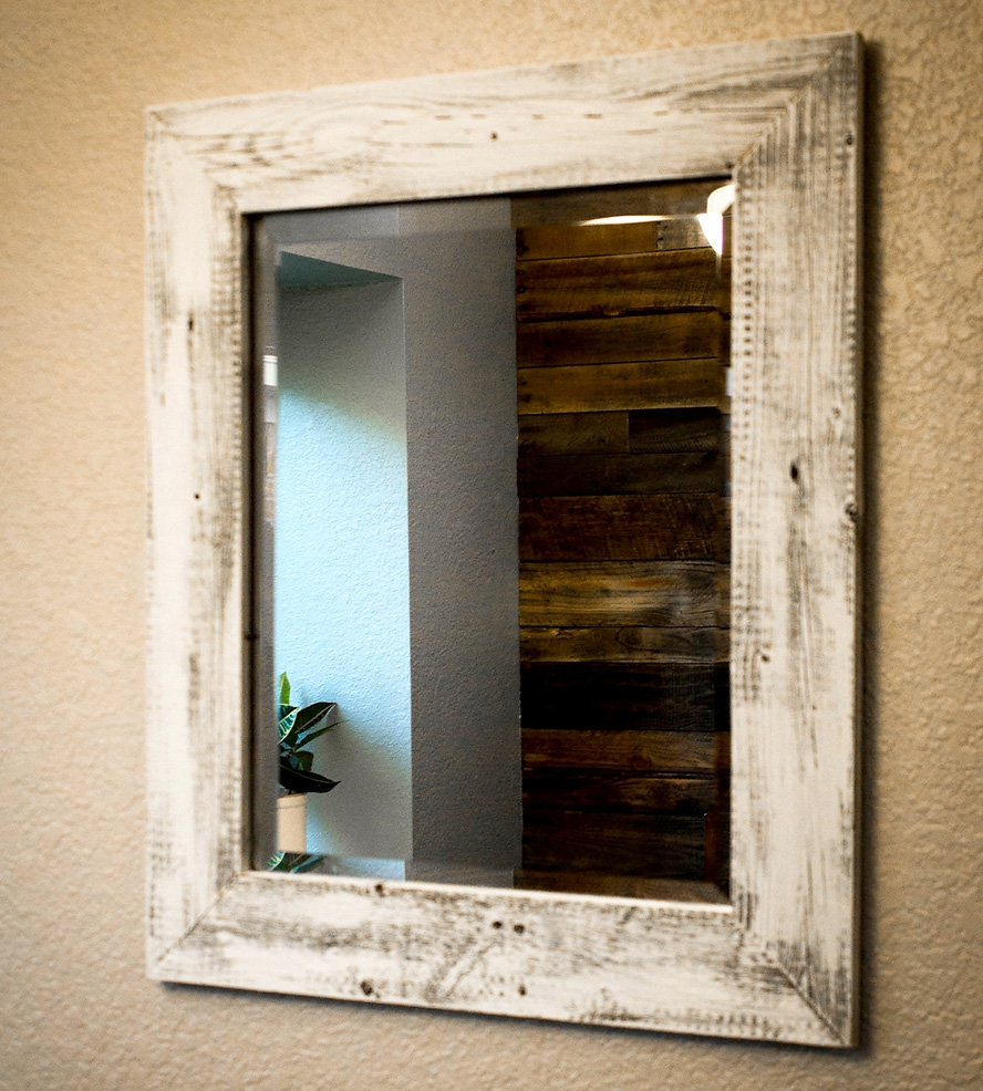 Reclaimed Wood Wall Mirrors