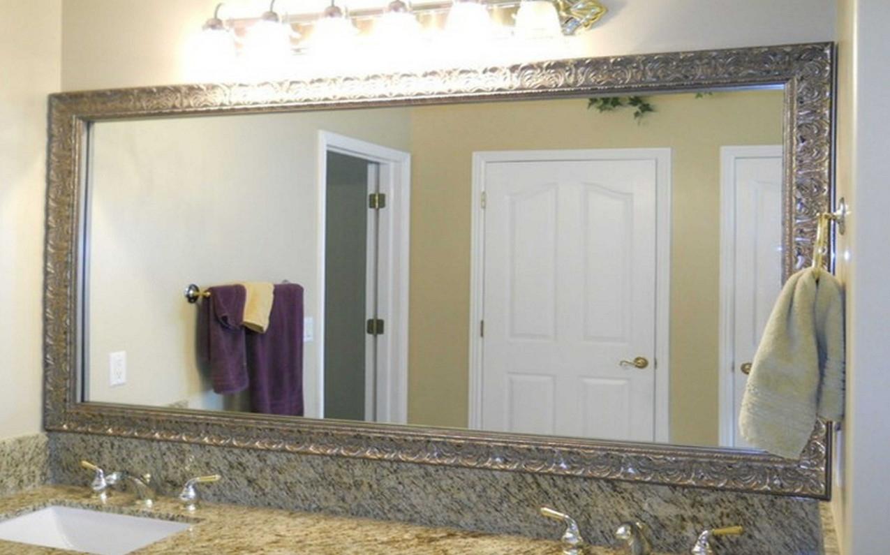 Rectangular Framed Bathroom Mirrors
