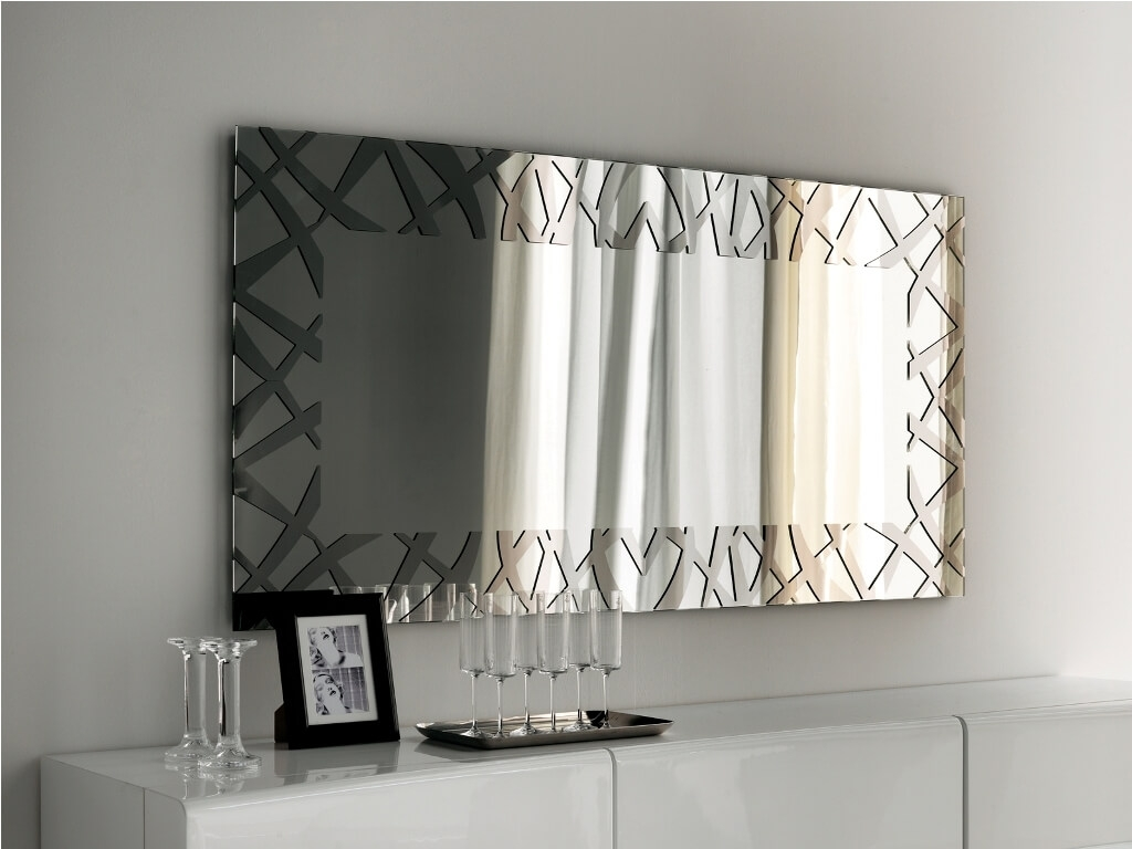 Rectangular Wall Mirror Decorative