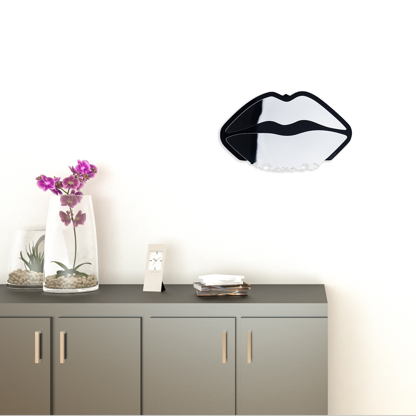 Reflection Mirror Wall Stickers Decor