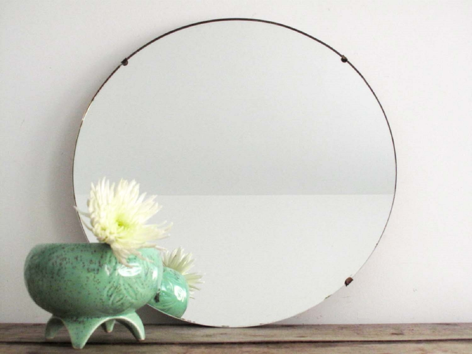 Round Bathroom Mirror Frameless