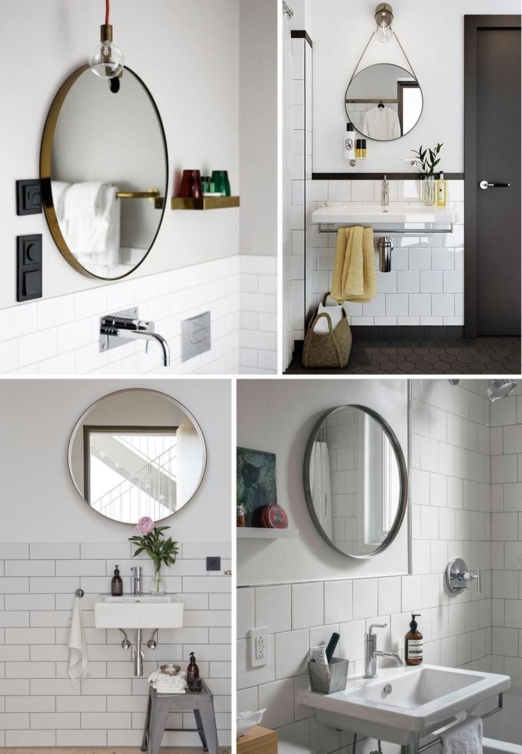 Round Mirror Bathroom Ideas