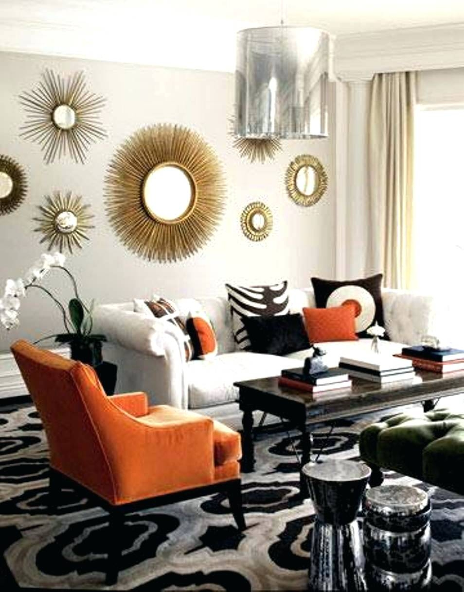 Round Mirror Wall Decor Ideas Round Mirror Wall Decor Ideas mirrors home decor ideasmetal mirror wall in circle panel round 954 X 1219
