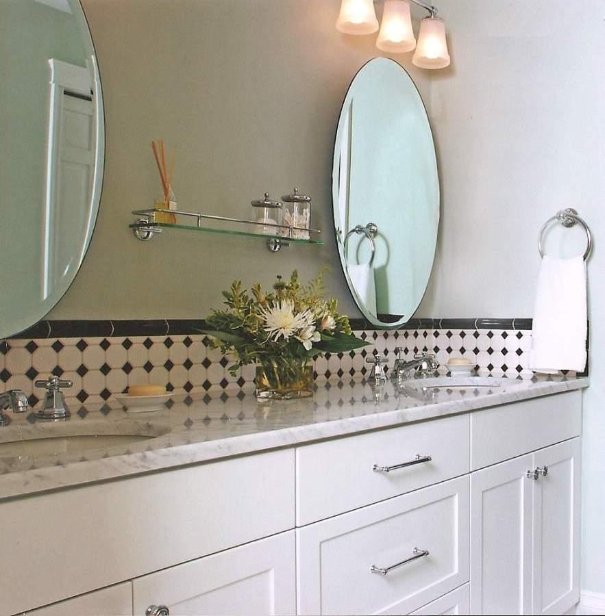 Round Mirrors For Bathroom Vanity