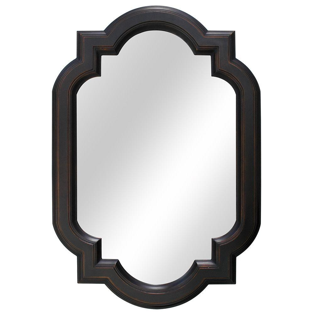 Rubbed Bronze Wall Mirrors