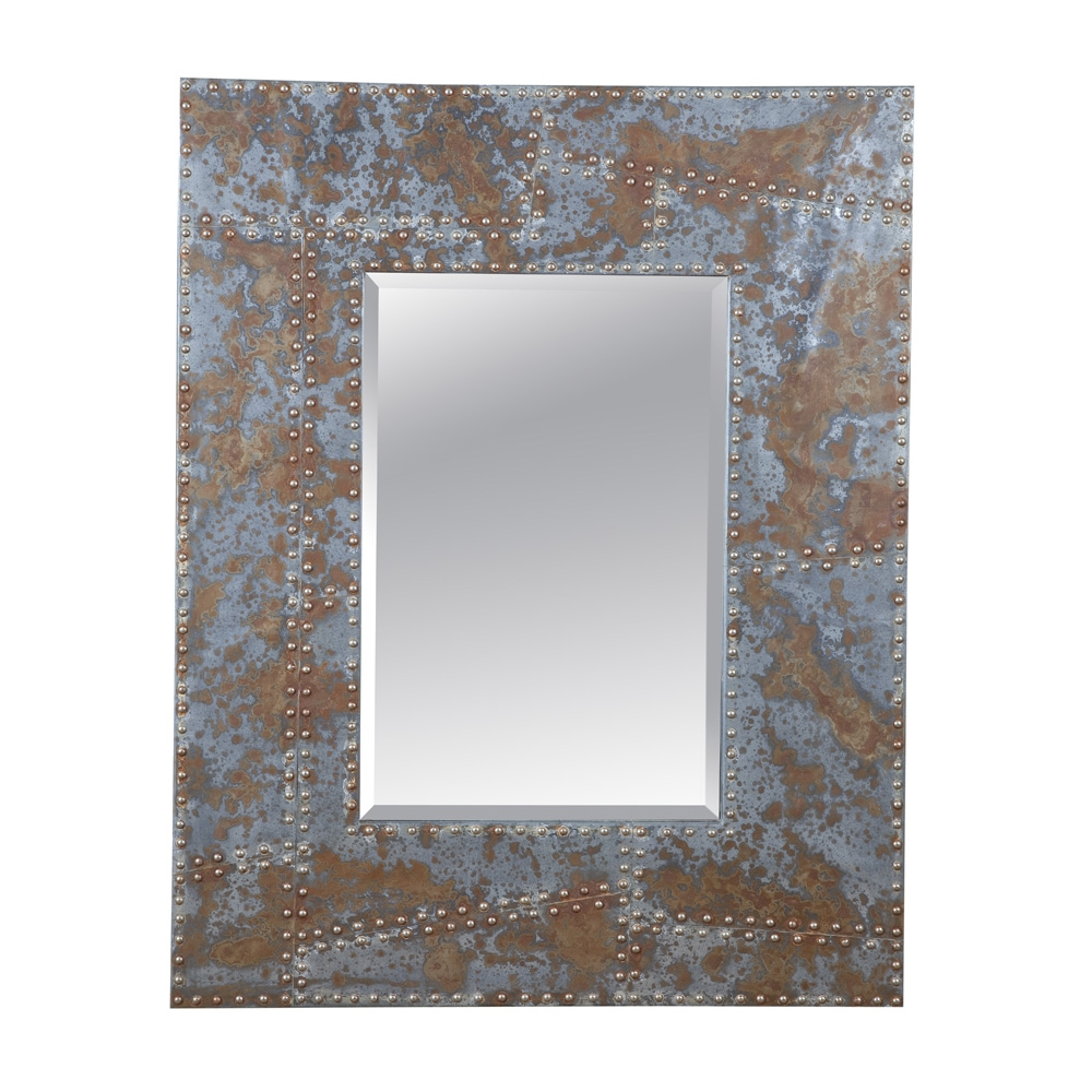 Rustic Metal Wall Mirrors