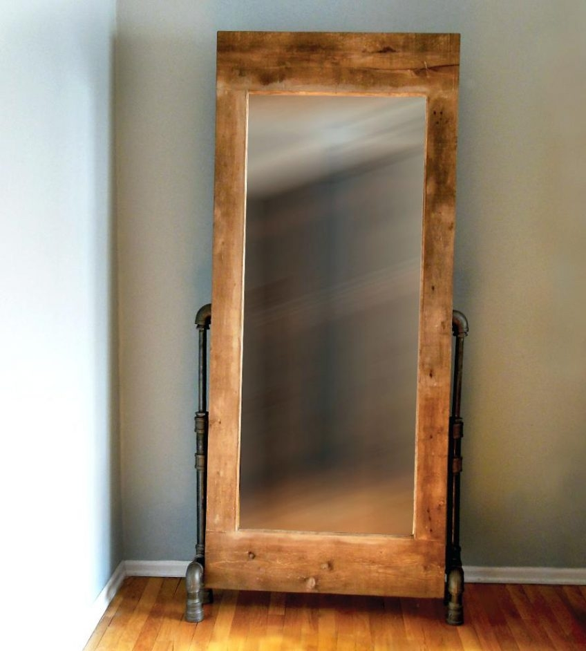 Rustic Wooden Wall Mirrors