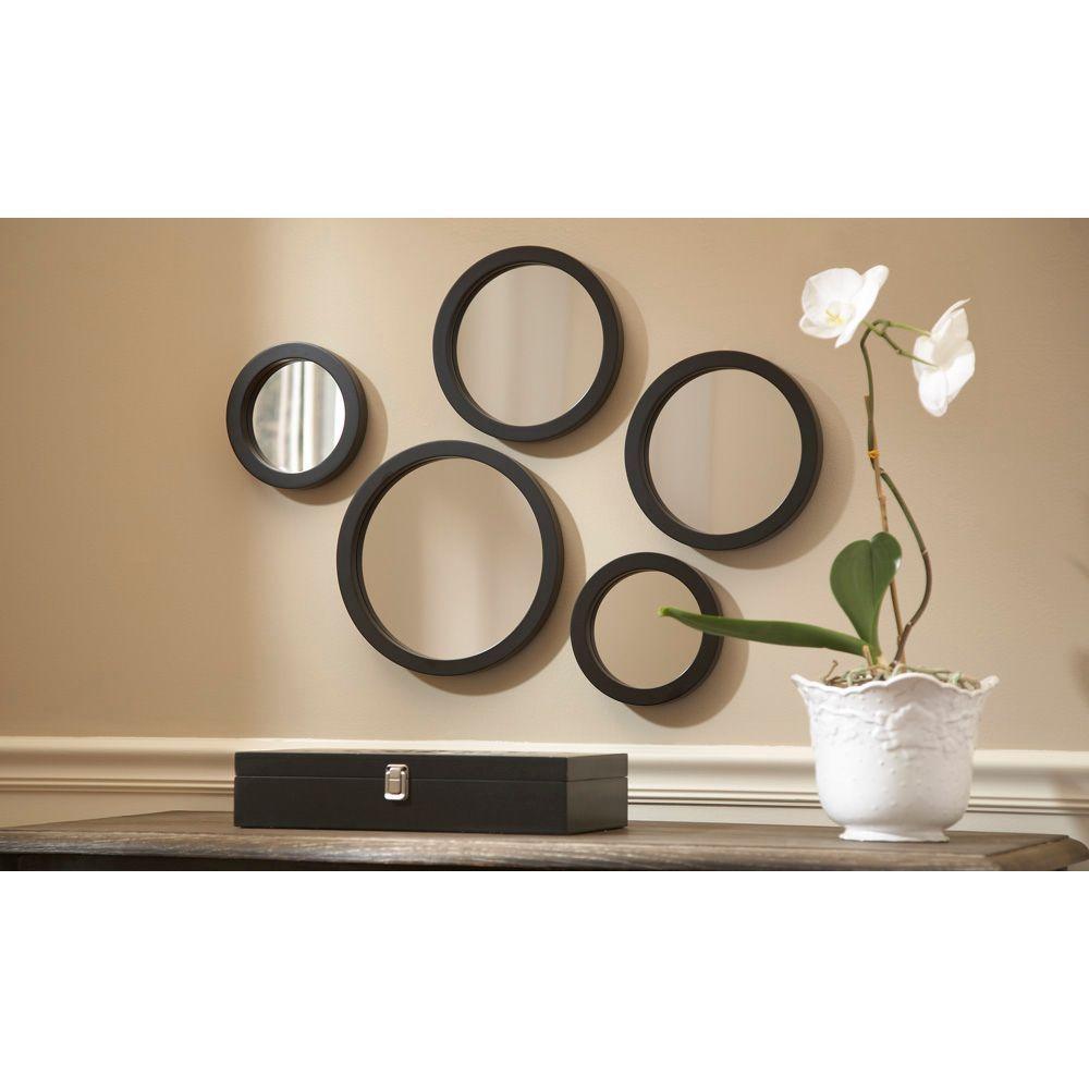 Set Of 5 Wall Mirrors