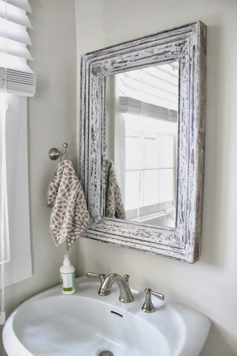 Shabby Chic Small Wall Mirrors Shabby Chic Small Wall Mirrors shab chic bathroom target unique small round glass single 776 X 1165